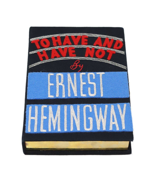 "Olympia ""To Have And Have Not by Ernest Hemingway"" Clutch 4"