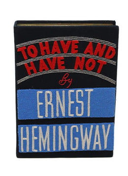 "Olympia ""To Have And Have Not by Ernest Hemingway"" Clutch"