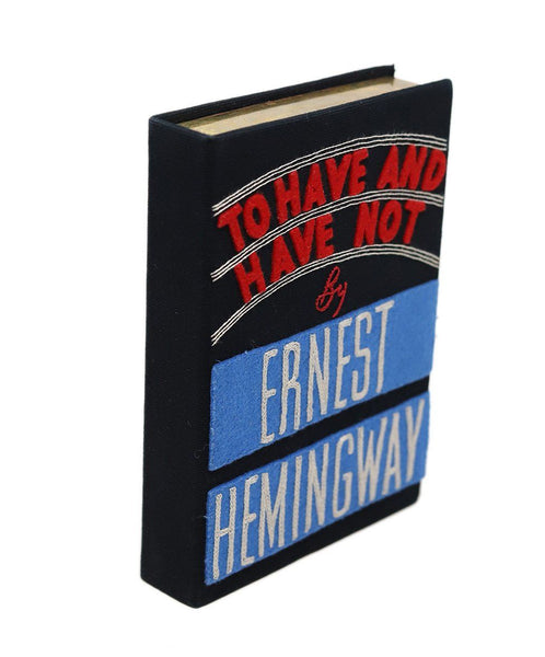 "Olympia ""To Have And Have Not by Ernest Hemingway"" Clutch 1"