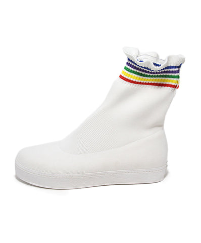 Opening Ceremony White Rainbow Cotton Booties 1
