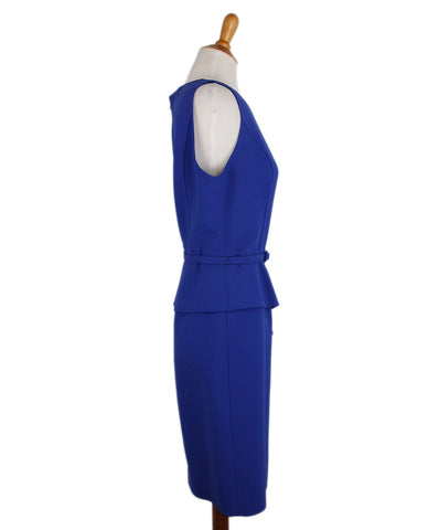 Oscar de la Renta Blue Dress 1