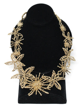 Oscar De La Renta Gold Star Fish Necklace 1