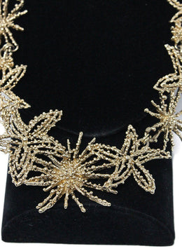 Oscar De La Renta Gold Star Fish Necklace 2