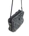 Osklen Rio Blue Grey Fish Leather Crossbody Bag 3
