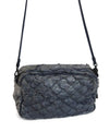 Osklen Rio Blue Grey Fish Leather Crossbody Bag 4