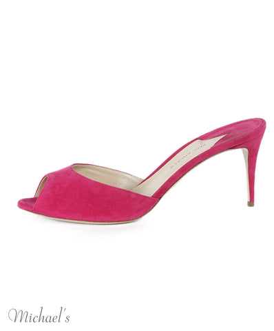 Paul Andrew Pink Suede Shoes