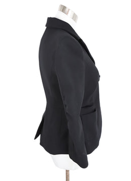 Paule Ka Black Wool Jacket 2