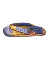 Pedro Garcia Blue Multi Color Satin Blend Sandals 2