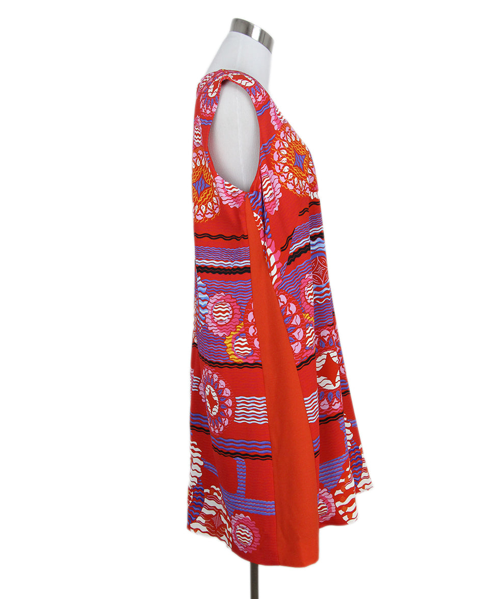 Peter Pilotto red blue multi print dress 2