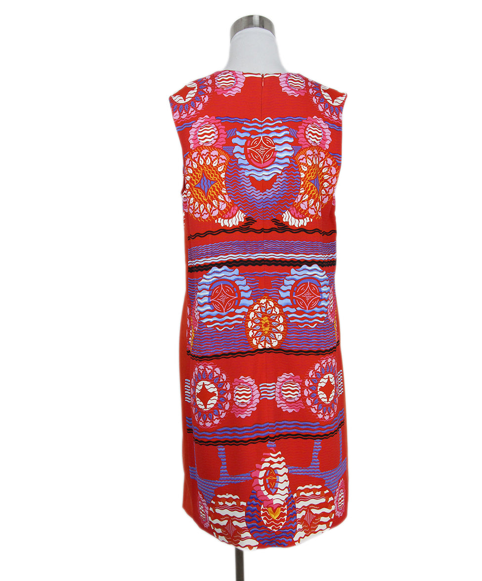 Peter Pilotto red blue multi print dress 3
