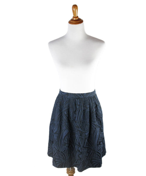 Peter Som Navy Cotton Skirt Sz 6
