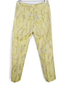 Phillip Lim Yellow White Polyester Cotton Pants 2