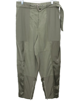Phillip Lim Olive Green Military Style Pants 1