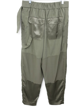Phillip Lim Olive Green Military Style Pants 2