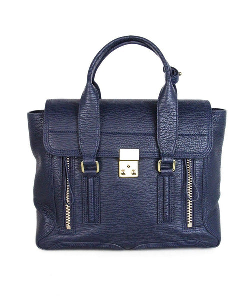 Phillip Lim Blue Leather Satchel 1