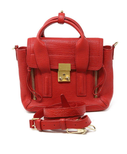 Phillip Lim Pashli Red Leather Mini Handbag