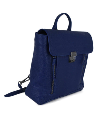 Phillip Lim Blue Royal Leather Backpack 1