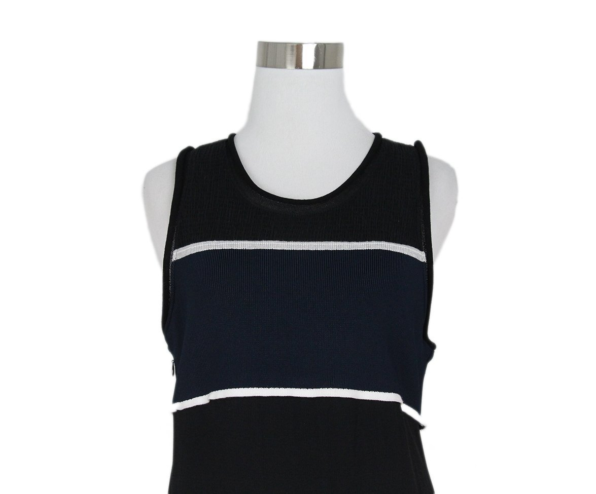 Phillip Lim black blue dress 7