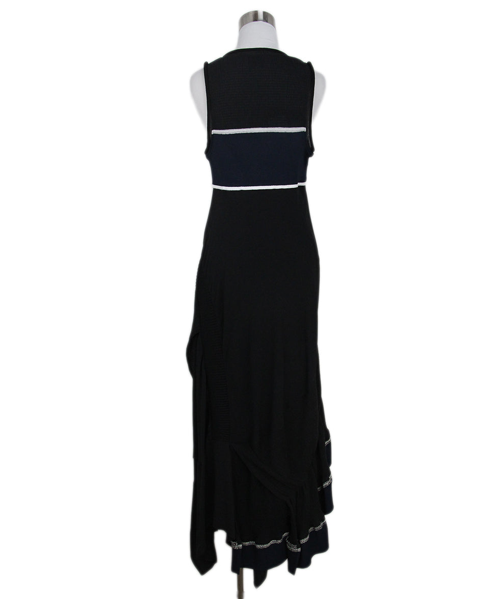Phillip Lim black blue dress 3