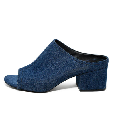 Phillip Lim Blue Denim Shoes Heels 1