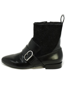 Phillip Lim Black Leather Suede Booties 2