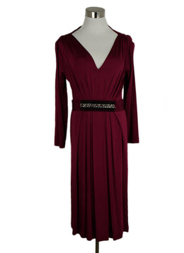 Philosophy Fuchsia Long Sleeve Dress sz. 4 | Philosophy