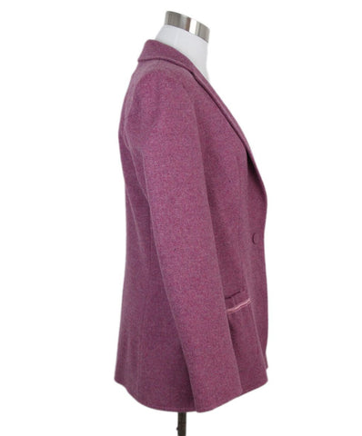 Piazza Sempione Purple Plum Jacket 1