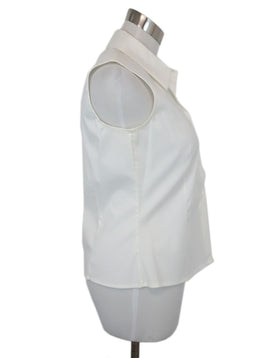 Piazza Sempione White Cotton Top 2