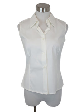 Piazza Sempione White Cotton Top 1