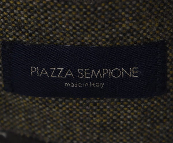 Piazza Sempione Brown Tan Cashmere Jacket 4