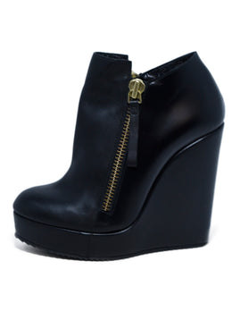 Pierre Hardy Black Leather Zipper Detail Booties 2