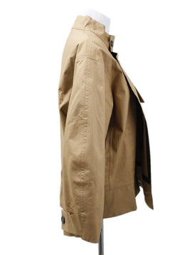 Plan C Neutral Camel Cotton Sp Outerwear 1