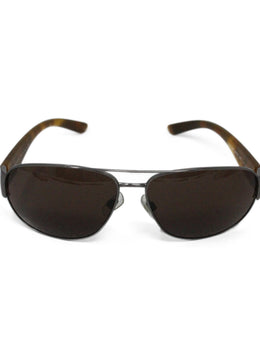 Polo Brown Metal Sunglasses 1