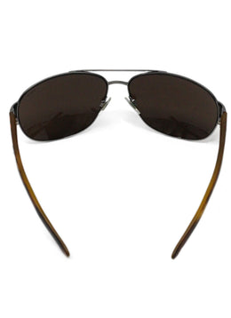 Polo Brown Metal Sunglasses 2