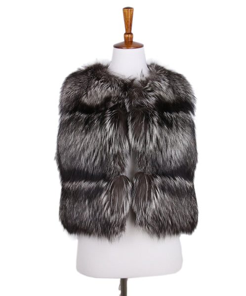 Pologeorgis Grey Brown Grey Fox Vest 1