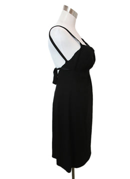 Prada Black Acetate Dress 2