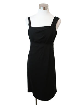 Prada Black Acetate Dress 1