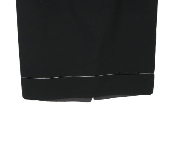 Prada Black Cotton Skirt 4