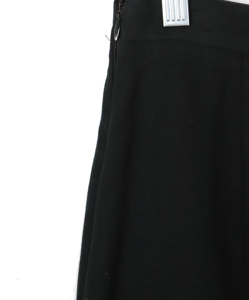 Prada Black Cotton Skirt 6