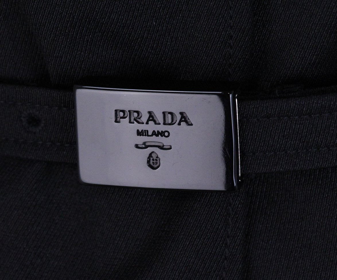 Prada Black Jacket with Belt 5