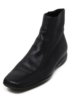 Prada Sport Black Leather Booties 1