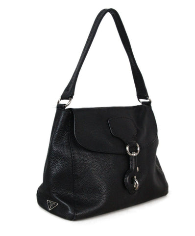 Prada Black Leather shoulder bag 1
