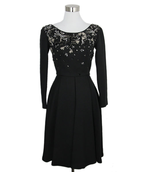 Prada  Black  Polyamide Clear Dress 1