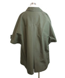 Prada Olive Green Nylon Trenchcoat 3