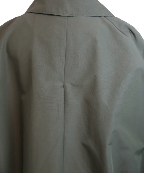 Prada Olive Green Nylon Trenchcoat 5