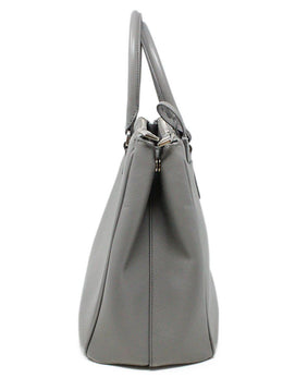 Prada Grey Leather Large Galleria Handbag 2
