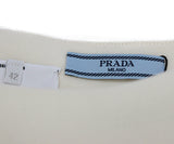 Prada Ivory Wool Mini Skirt 3