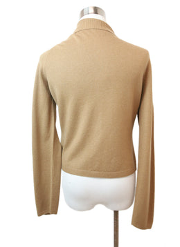 Prada Tan Cashmere Sweater 3