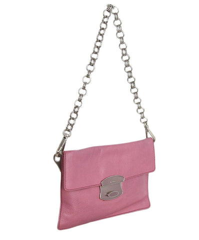 Prada Pink Leather bag 1