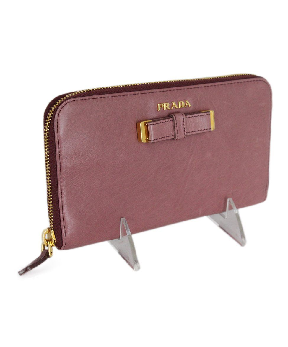 Prada Pink Mauve Leather 2